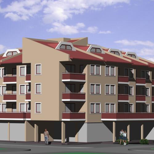 Нова сграда до Минерален плаж Каферинова