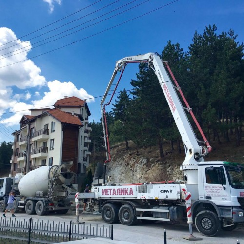изливане на бетон велинград