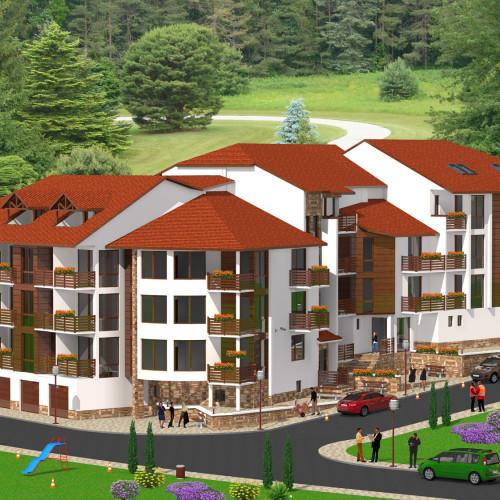 Продажба на апартаменти в новострояща се сграда, Велинград