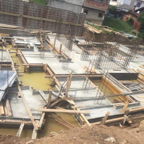 полагане на бетон цени